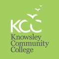 Knowsley Community College logo.