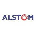 Alstom Transport UK Ltd logo.